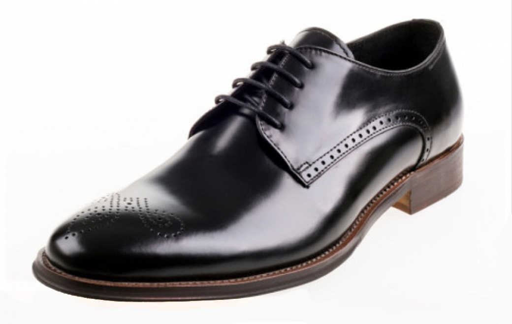 leather classic lace up mens shoe